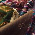 画像3: インド綿パッチストール (3)