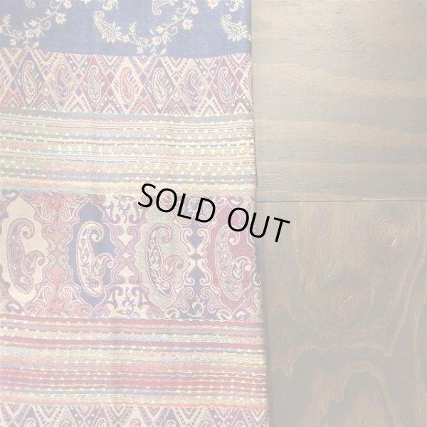 画像2: ペイズリー柄織りショール