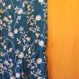 画像4: 刺繍ショール タッセル付 (4)