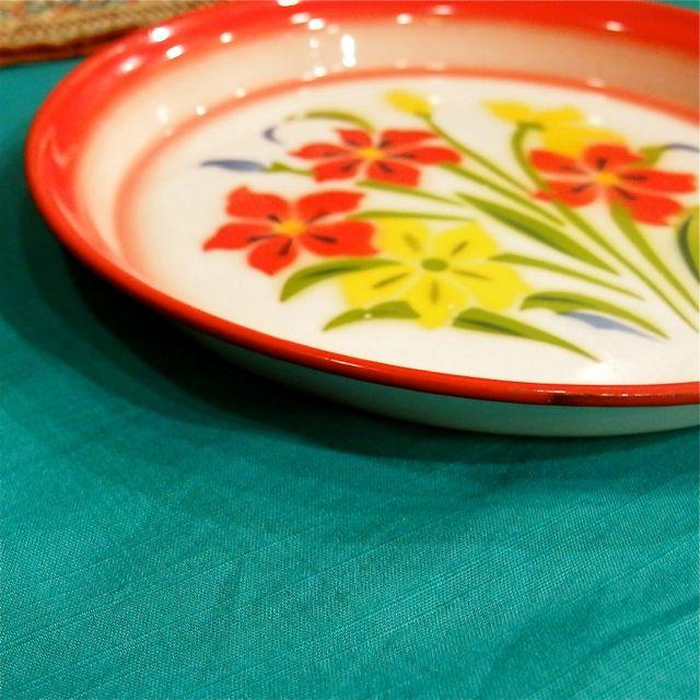 画像4: チェンマイ ホーロー皿