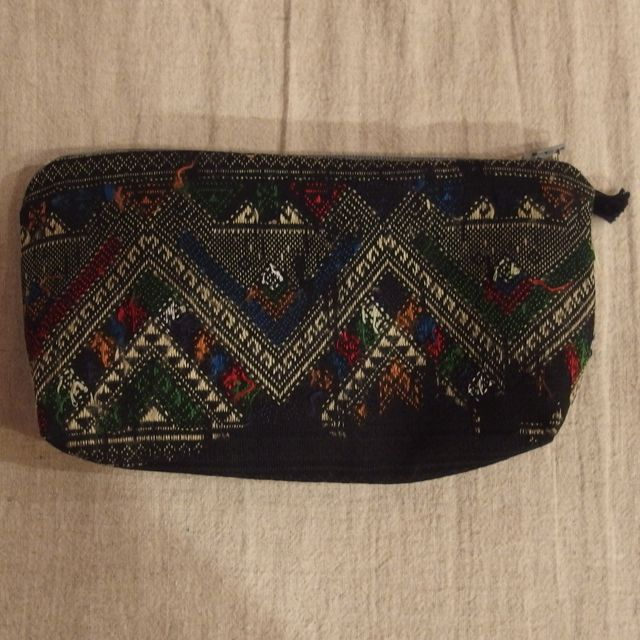 画像4: ラオス織物ポーチ