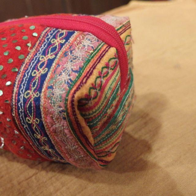 画像4: 刺繍 BOX POUCH