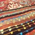 画像4: ペイズリー柄織りショール (4)