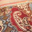 画像3: ペイズリー柄織りショール (3)