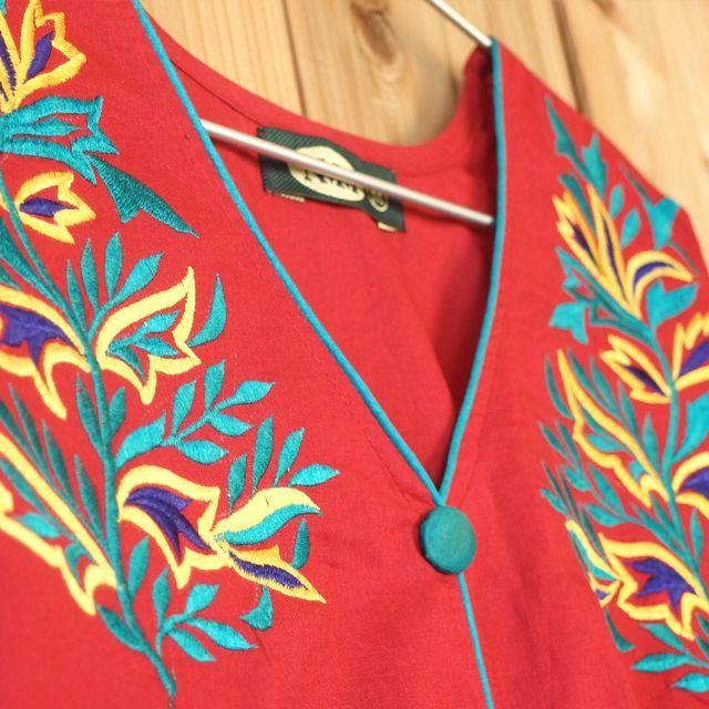 画像3: インド刺繍ワンピース