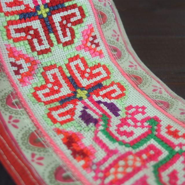 画像2: モン族刺繍古布