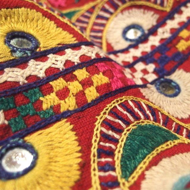 画像2: インド刺繍バック