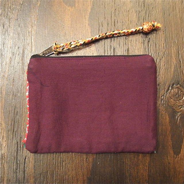 画像5: カッチ刺繍ポーチ