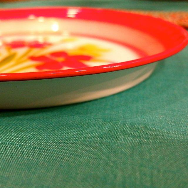 画像3: チェンマイ ホーロー皿