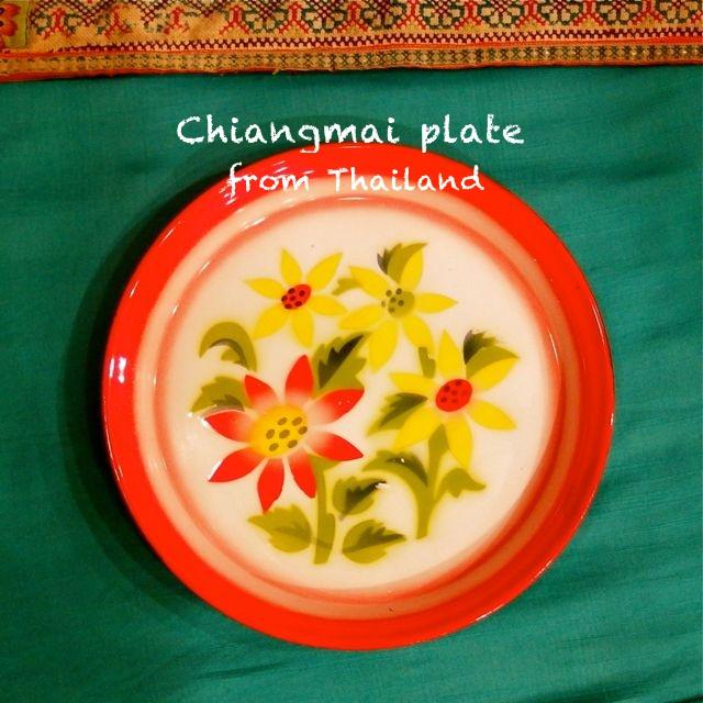 画像1: チェンマイ ホーロー皿