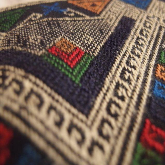 画像2: ラオス織物ポーチ