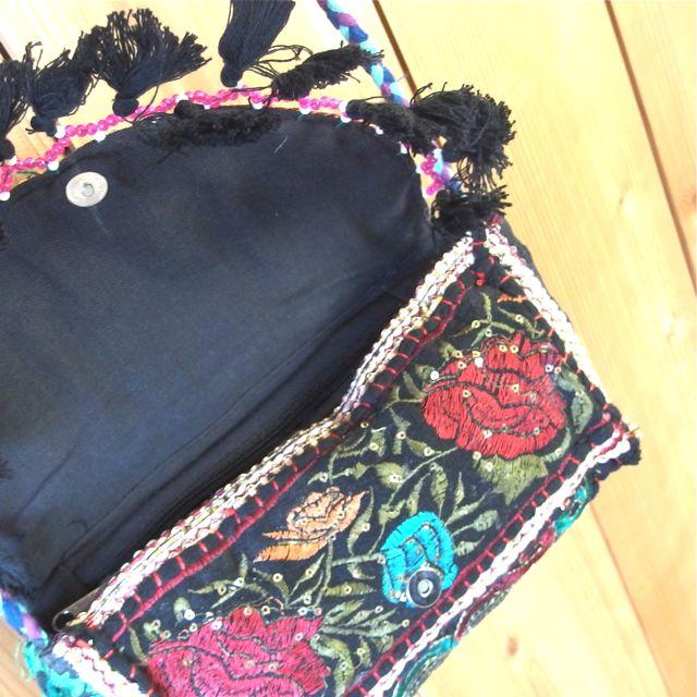画像3: インド刺繍ポシェット