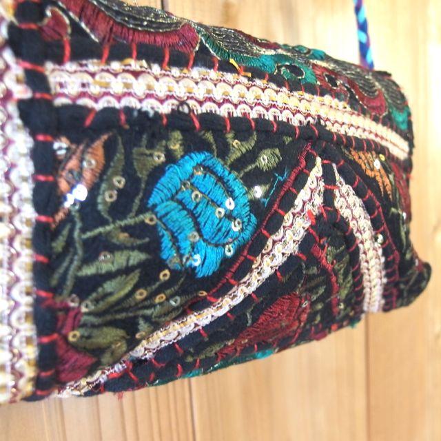 画像5: インド刺繍ポシェット