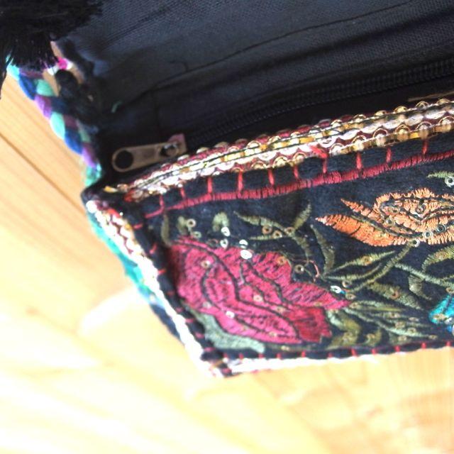 画像4: インド刺繍ポシェット