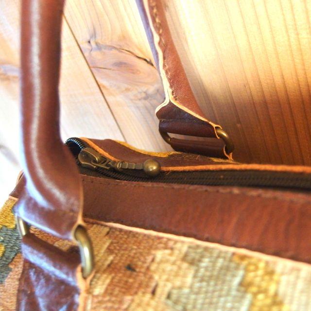 画像5: インドキリム ボストンバッグ