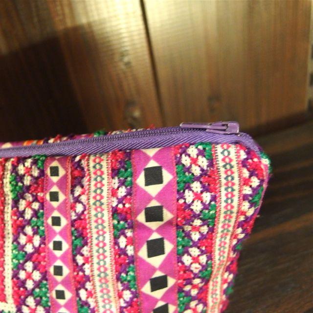 画像2: モン族刺繍ポーチ
