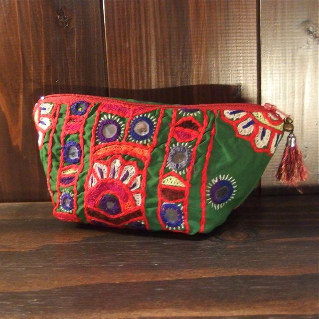 画像3: パキスタン刺繍ポーチ